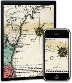 Old Compass iPhone App
