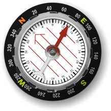 Orienteering Compass iPhone App